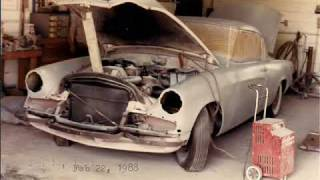 1956 Golden Hawk Restoration History in Pictures