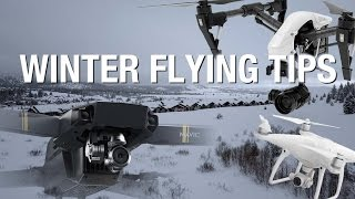 How to fly a Drone in Winter & Cold Weather Tips | DJI MAVIC PRO