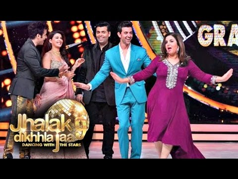 Jhalak Dikhla Jaa Season 9 Finale - Hrithik Roshan Dance With Jacqueline Fernandez & Other Judges