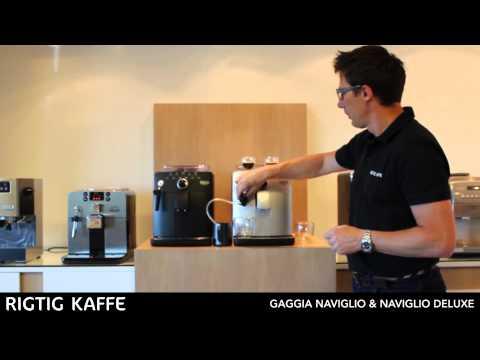 Rigtig Kaffe demonstrerer: Gaggia Naviglio & Naviglio Deluxe