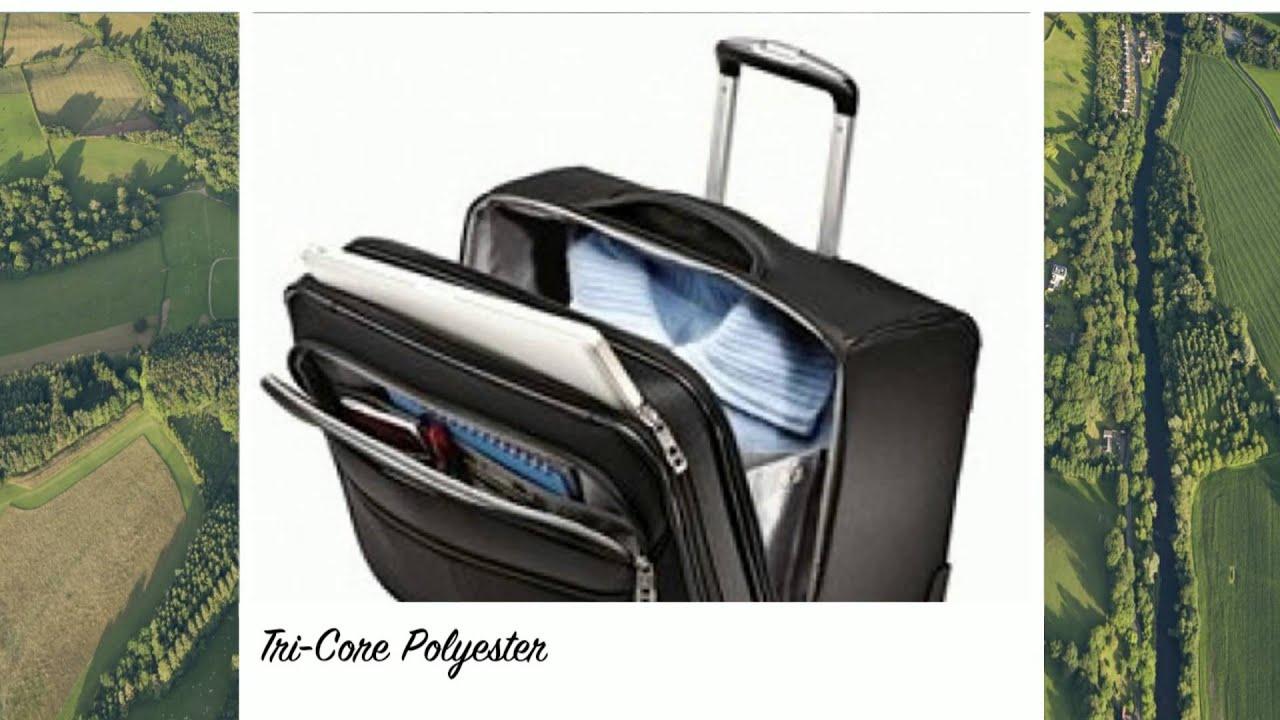 76e35f342a Samsonite LifTwo Wheeled Boarding Bag Luggage Online - YouTube