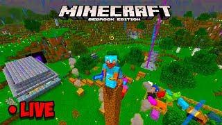 Minecraft Bedrock - Minecraft 1.16 PS4 update talk! Minecraft Live Stream!