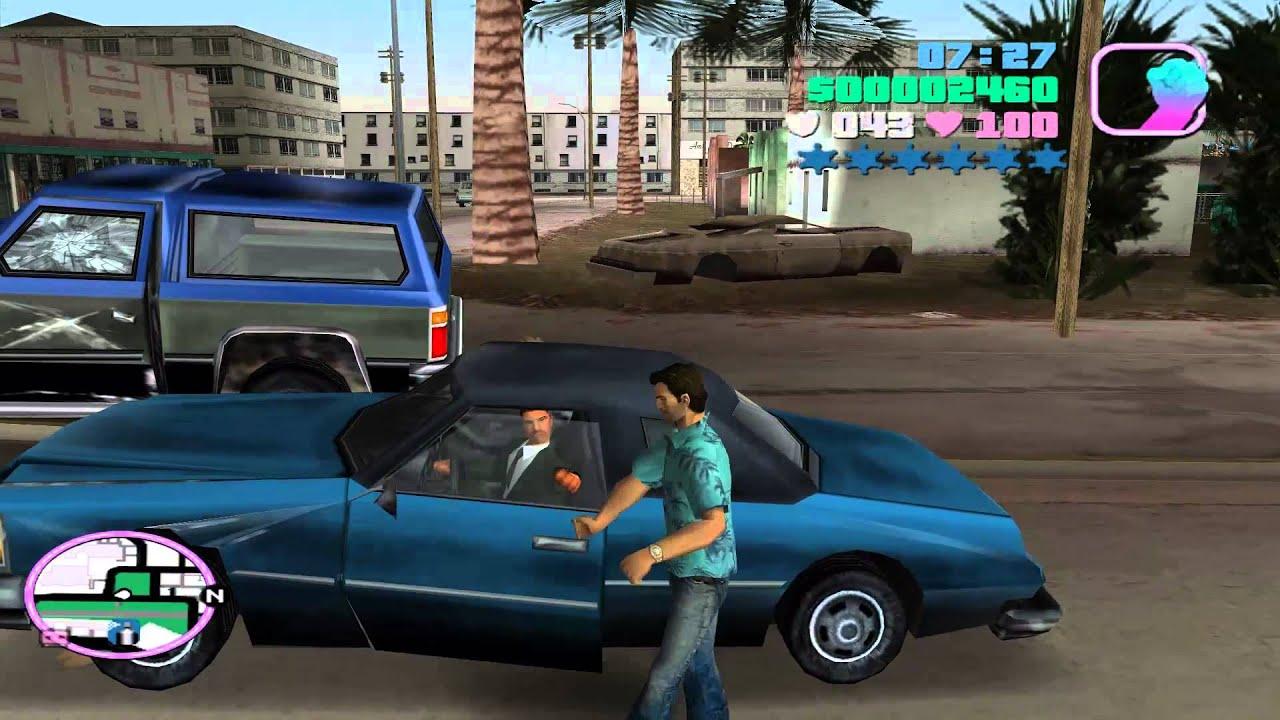 GTA Vice City - Sunshine Autos - Import Garage - List 1