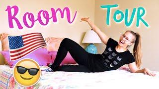 ROOM TOUR mojego pokoju w USA ✮ Zwariowani