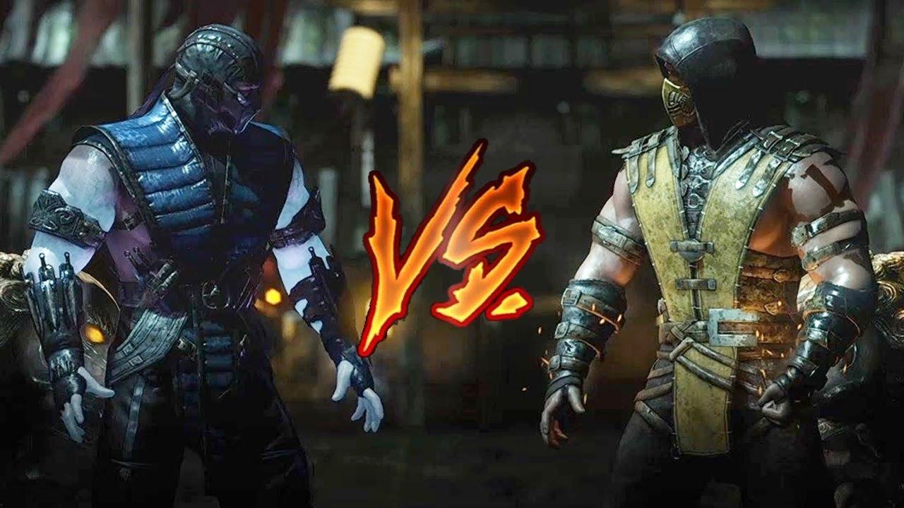 Mortal Kombat X Sub Zero Vs Scorpion Very Hard Youtube