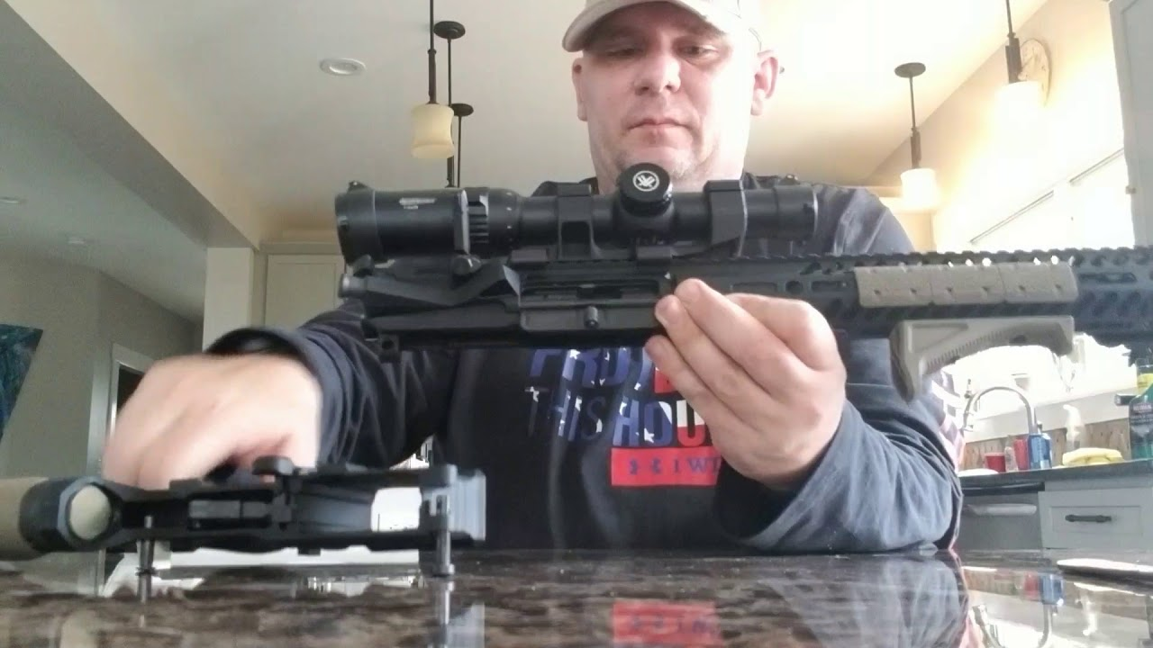 Man Shows How to Convert Guns to Fully Automatic in 5 Minutes