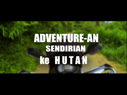 #22 Adventure Solo Riding ke Hutan | Motovlog Bandung