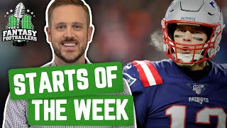Fantasy Football 2019 - Starts of the Week + Week 17 Breakdown, Megalabowl WINNER! - Ep. #844