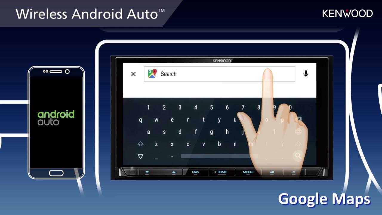KENWOOD Wireless Android Auto 2018