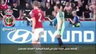 كيف عاش رونالدو مباراة المجر - فيديو خلف الكواليس مترجم للقائد الذي هب لنجدة بلاده