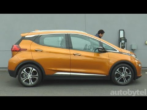 2017 Chevrolet Bolt Premier Ev Test Drive Video Review Youtube