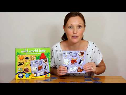 Orchard Toys: WILD WORLD LOTTO POLAR ANIMALS - play with Hay