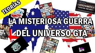 ¡La MISTERIOSA GUERRA dentro del UNIVERSO GTA! | Teorías