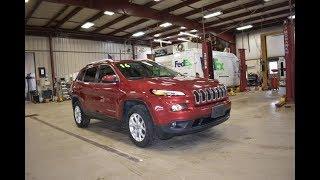 2016 Metallic Red Jeep Cheorkee Latitude 4x4 SLT4756 Motor Inn Auto Group