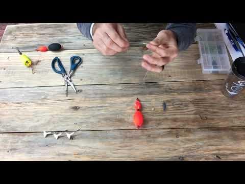 Rigging A Slip Cork For Georgia Trout Fishing
