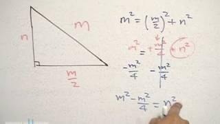 Teorema de pitágoras │ problema 5