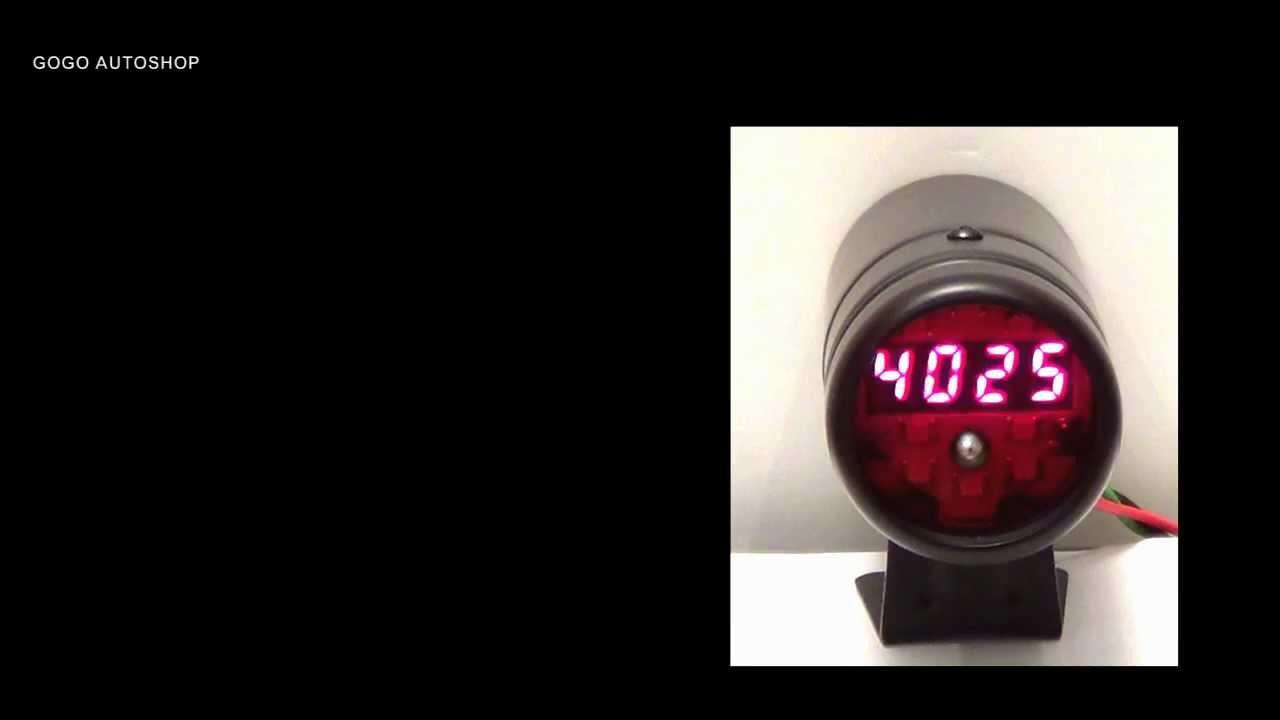 Lokar BDI-9134 3-1//8 5 Gauge Polished VDO Vision Series Dash Insert