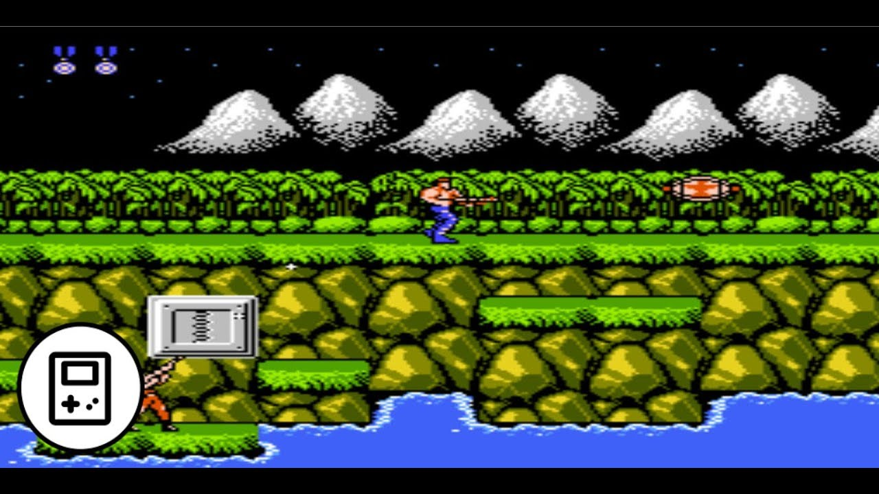 Contra - Games Of The 80s y 90s