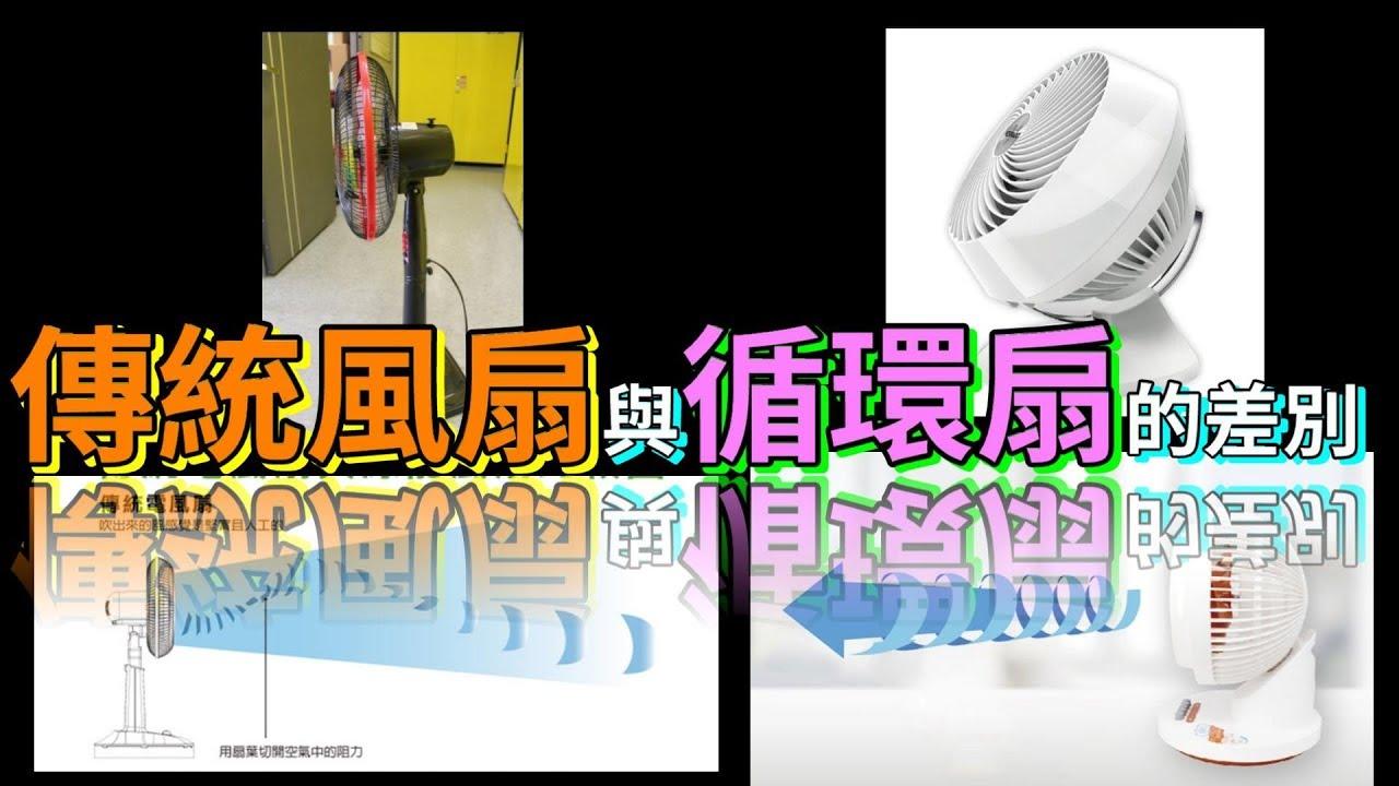 電風扇與循環扇的差別( 冷房 )( 工業扇 ) - YouTube