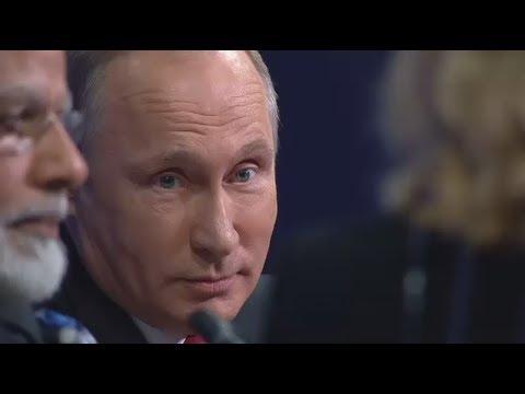Don't worry, be happy: самые яркие высказывания Путина на пленарном заседании ПМЭФ
