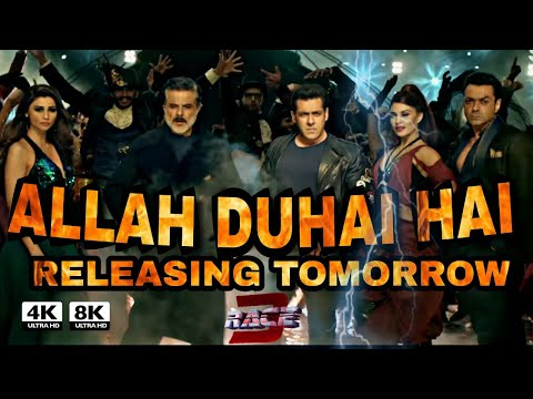 Race 3 Allah duhai song Releasing Tomorrow confirm | Salman khan | daisy Shah | Jacqueline | Race 3