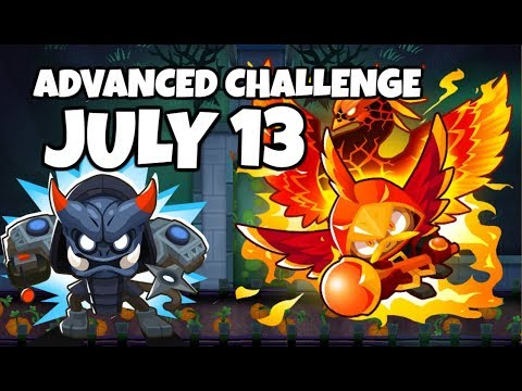 BTD6 Advanced Challenge - It&39;s Strong But Not Strong Enough - July 13 2019
