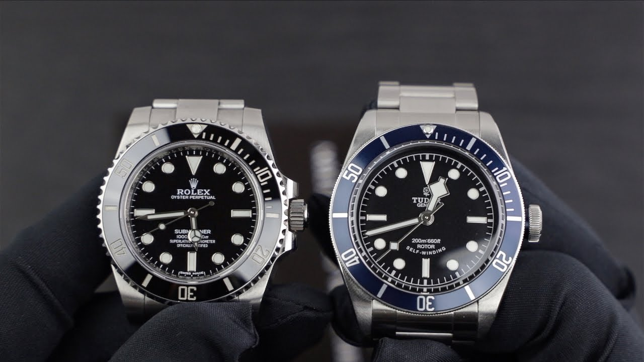 Rolex Submariner VS Tudor Black Bay