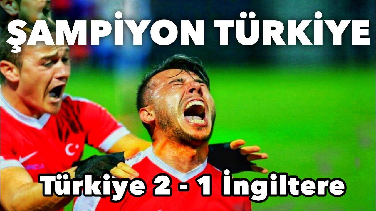 Türkiye 2-1 İngiltere   GENİŞ ÖZET   Avrupa Ampute Futbol Şampiyonası Finali