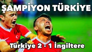 Türkiye 2-1 İngiltere | GENİŞ ÖZET | Avrupa Ampute Futbol Şampiyonası Finali