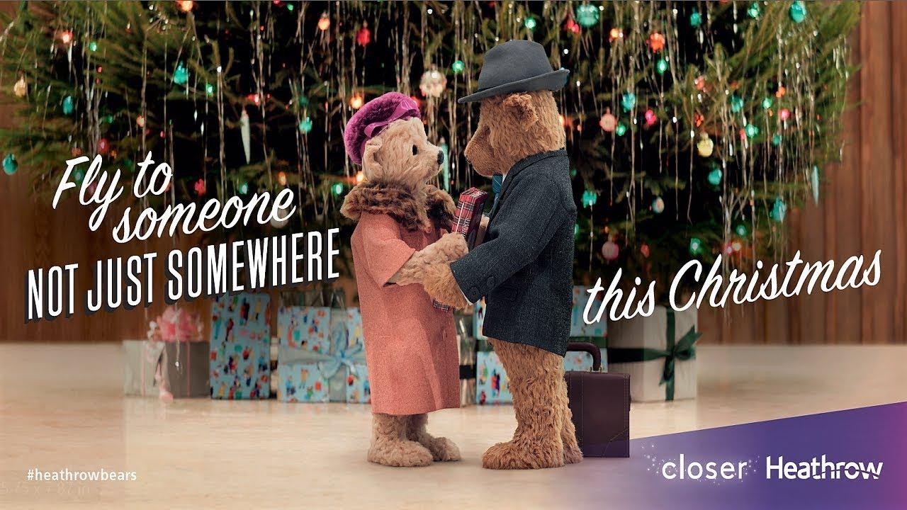 Heathrow Bears Christmas TV Advert   #HeathrowBears   YouTube