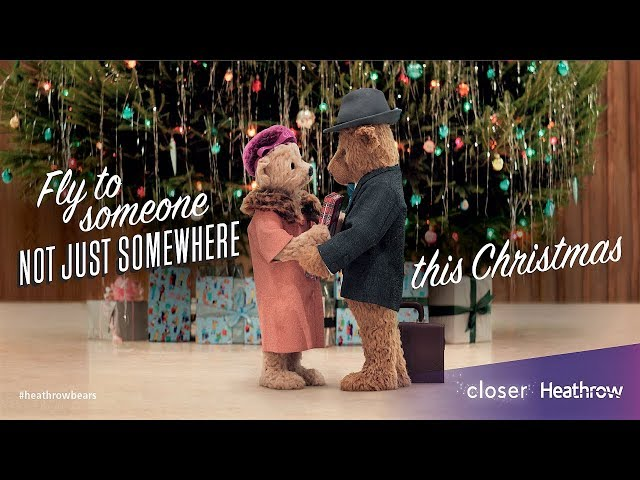 Heathrow Bears Christmas TV Advert – #HeathrowBears