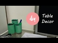 DIY Pencil Holder or Table Decore made of Beer/Soda Can