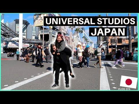 JAPAN OSAKA DAY 12 - THE HAPPIEST DAY | UNIVERSAL STUDIOS