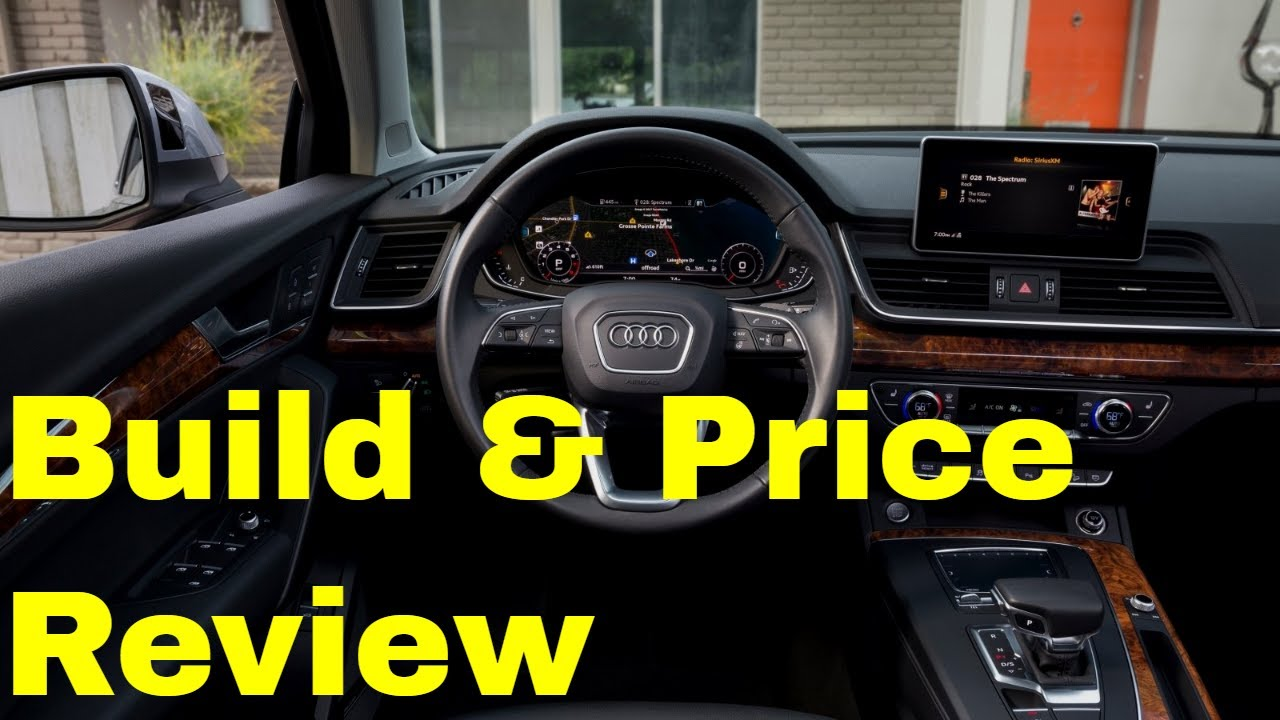 Build Audi Q5 >> 2019 Audi Q5 Premium Plus With Black Optic Package Build Price Review Gallery Performance