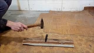 Кастет из стали: краш тест молотком