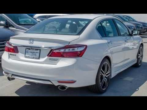2017 honda accord sport w honda sensing youtube for Culver city honda