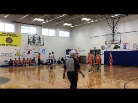 JEC vs Hebrew Academy of Montreal - JV Tournament 2/9/17