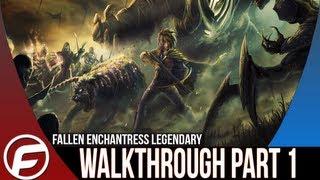 Fallen Enchantress Legendary Heroes Walkthrough Part 1