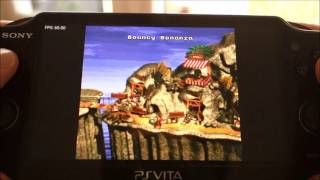 Henkaku on PS Vita: showing a few emulators