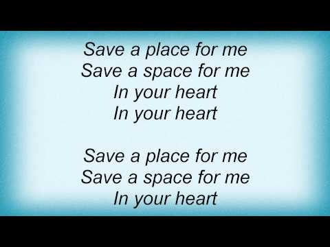 Tracy Chapman - Save A Place For Me Lyrics
