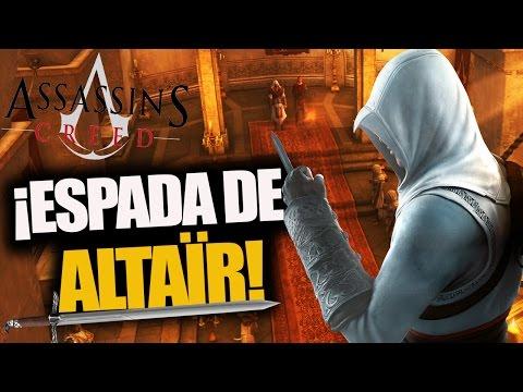 ¿Como conseguir la ESPADA de ALTAÏR en Assassin's Creed Brotherhood? - RAFITI
