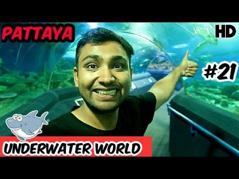 Underwater World Pattaya 2019 | Biggest Aquarium Pattaya | Thailand Hindi | HD