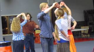 Learning the Laendler Austrian folk dance- 2014