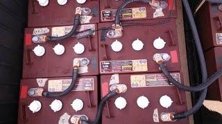 Battery Bank Wiring 48v 225ah Power Station