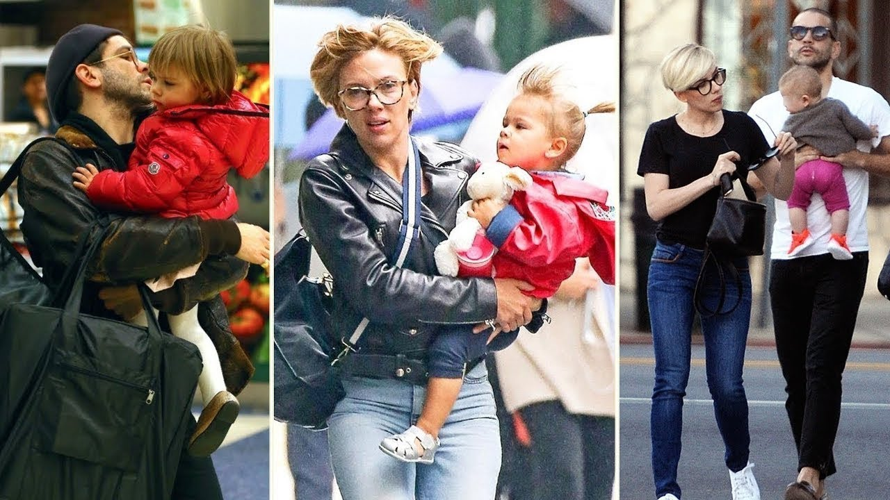 Scarlett Johansson's Daughter - 2018   Rose Dorothy Dauriac   Avengers Black Widow - YouTube