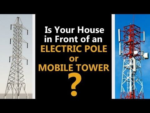 Is your house in front of a mobile tower? | Saral Vaastu | Call +91 9321333022