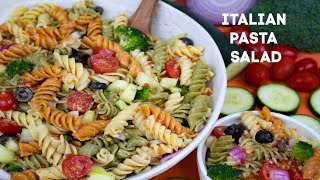 How To Make Zesty Italian Dressing Pasta Salad: Classic Italian Pasta Salad Recipe