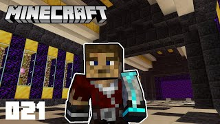 Minecraft 1.16.1 Survival Let's Play #21 - Gold Farm Storage and Bartering