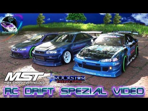 RC Drift MST VIP HT + 2New Bodies [BMW M3 GT2  U0026  Nissan Silvia Rockstar  Energy]