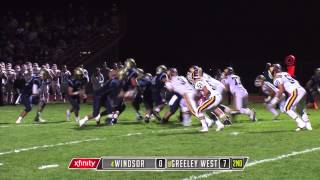 Windsor at Greeley West Football FINAL